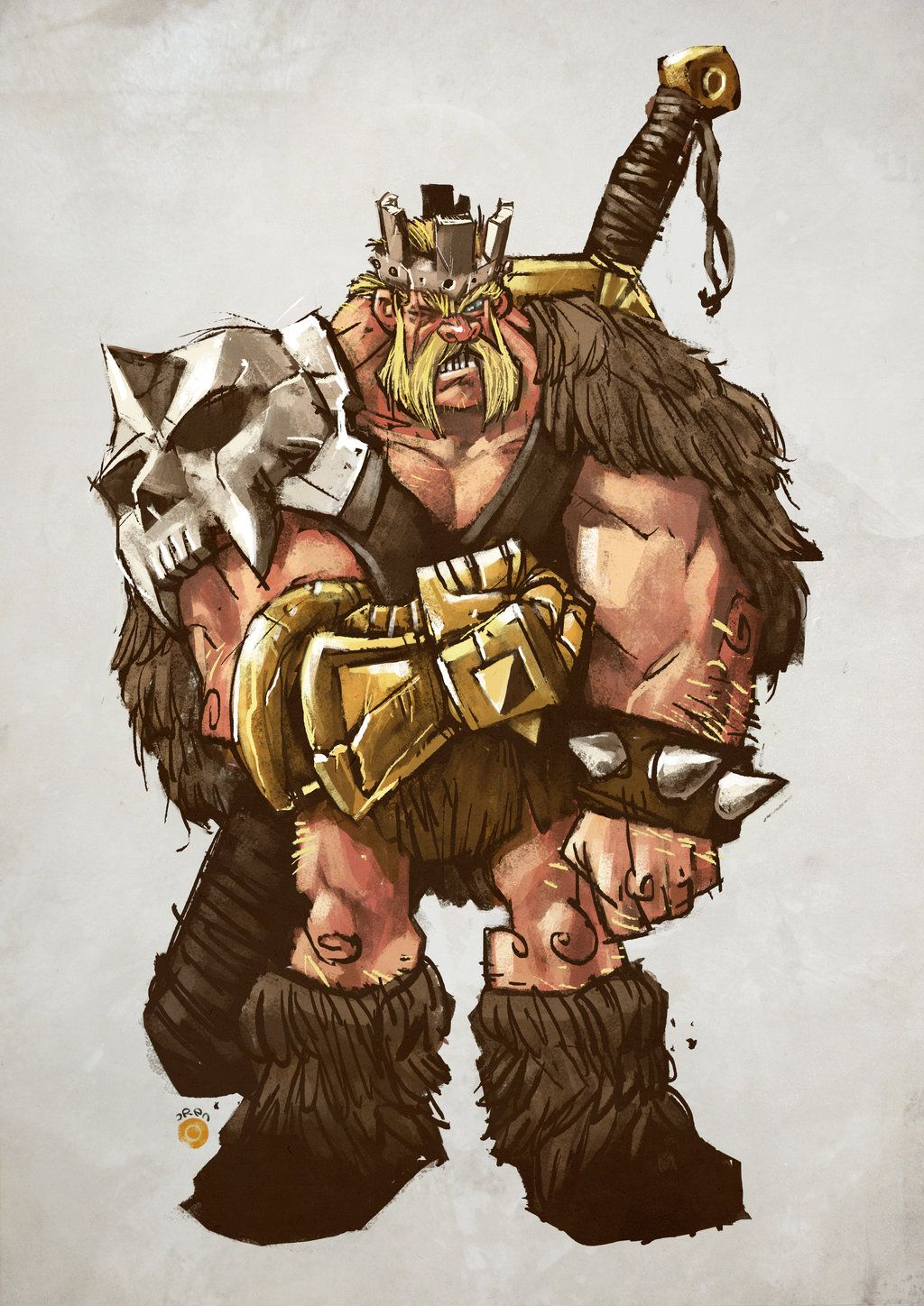 Barbarian King Clash Of Clan Wallpaper With Images