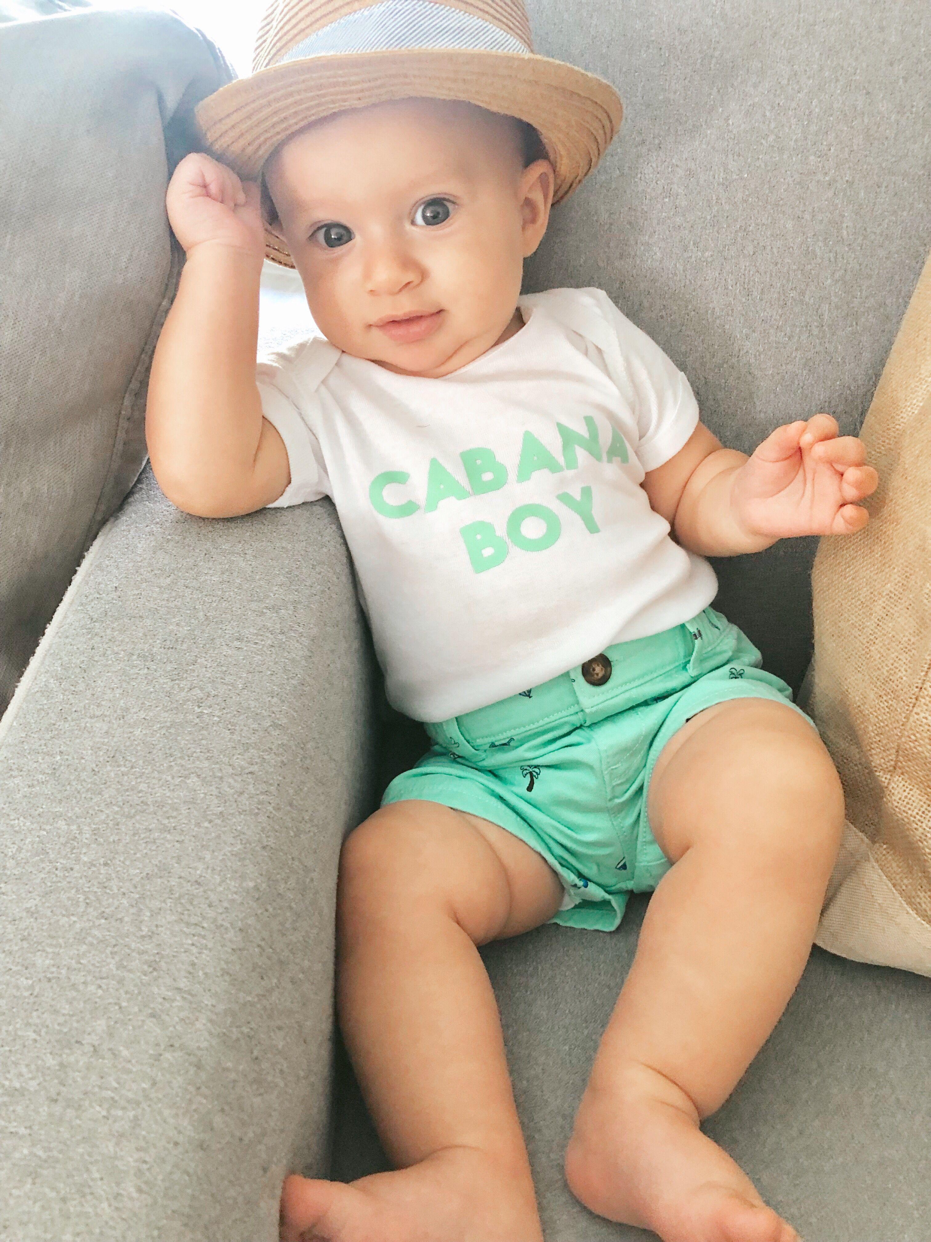 New born photography inspiration and cabana boy vacation