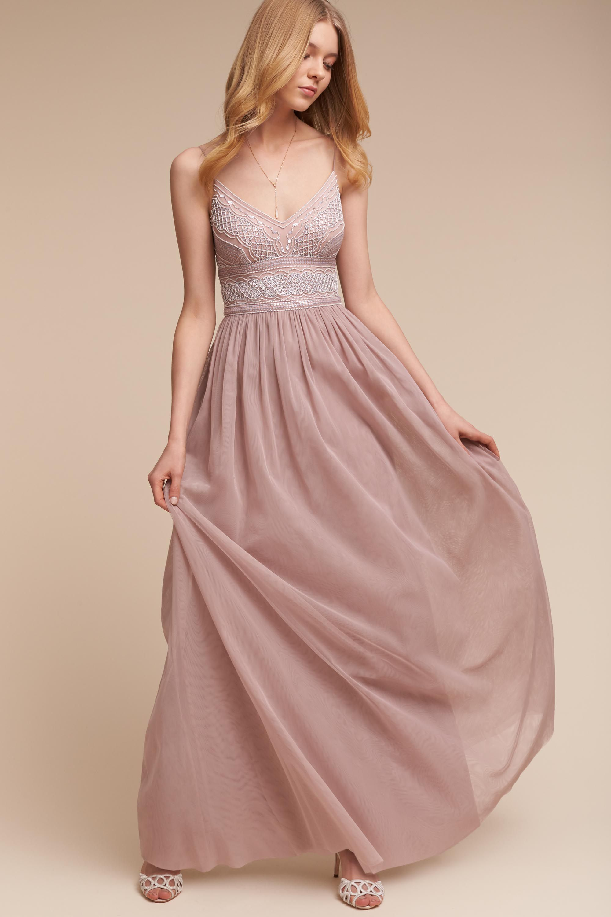BHLDN Aida Dress in New | BHLDN | Styles of Vintage Rose ...