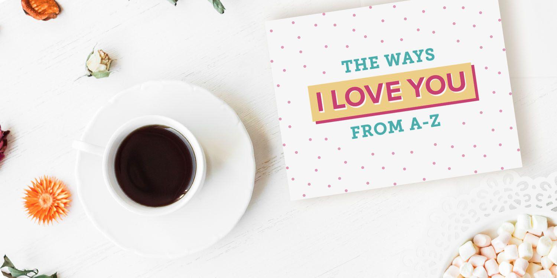 Alphabet Printable Valentine's Cards