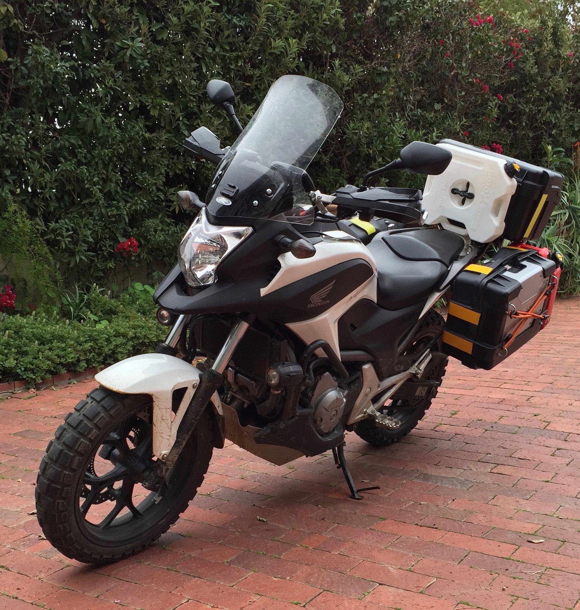 honda nc700x dct adventure biking cape town to kenya 3 | honda
