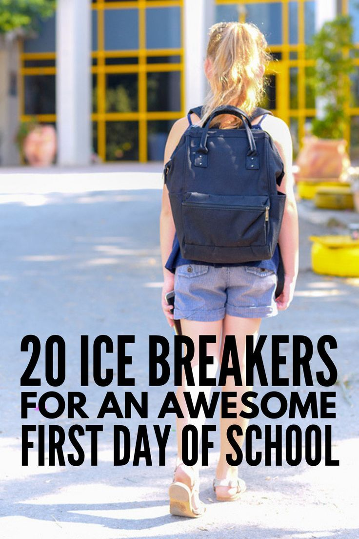 Getting to Know Each Other: 20 First Day of School Icebreakers for Kids #firstdayofschoolhairstyles