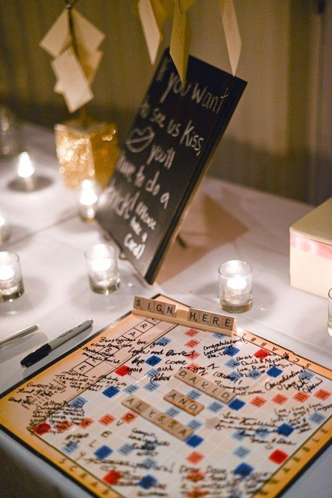 Scrabble Wedding Ideas