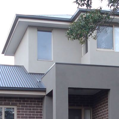 Woodland Grey Roof And Render Design House Exterior