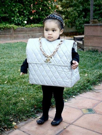 Chanel bag costume hahaha