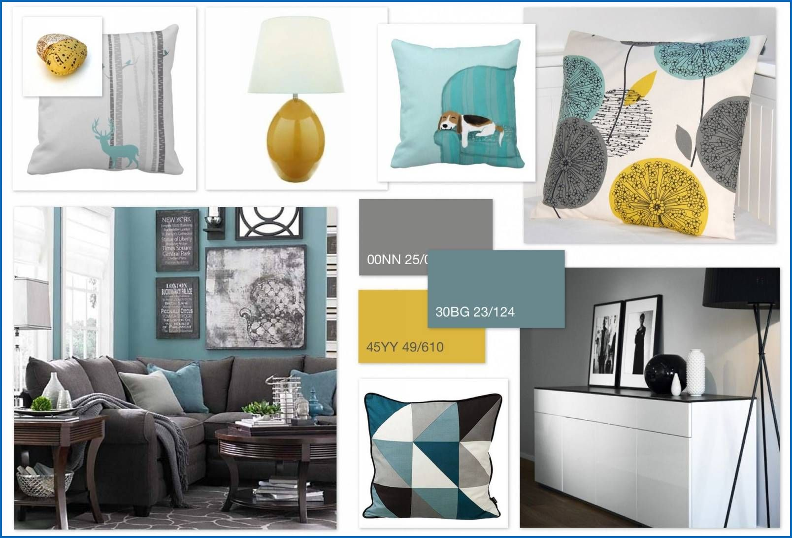Duck Egg Colour Scheme Living Room Awesome Grey Teal O