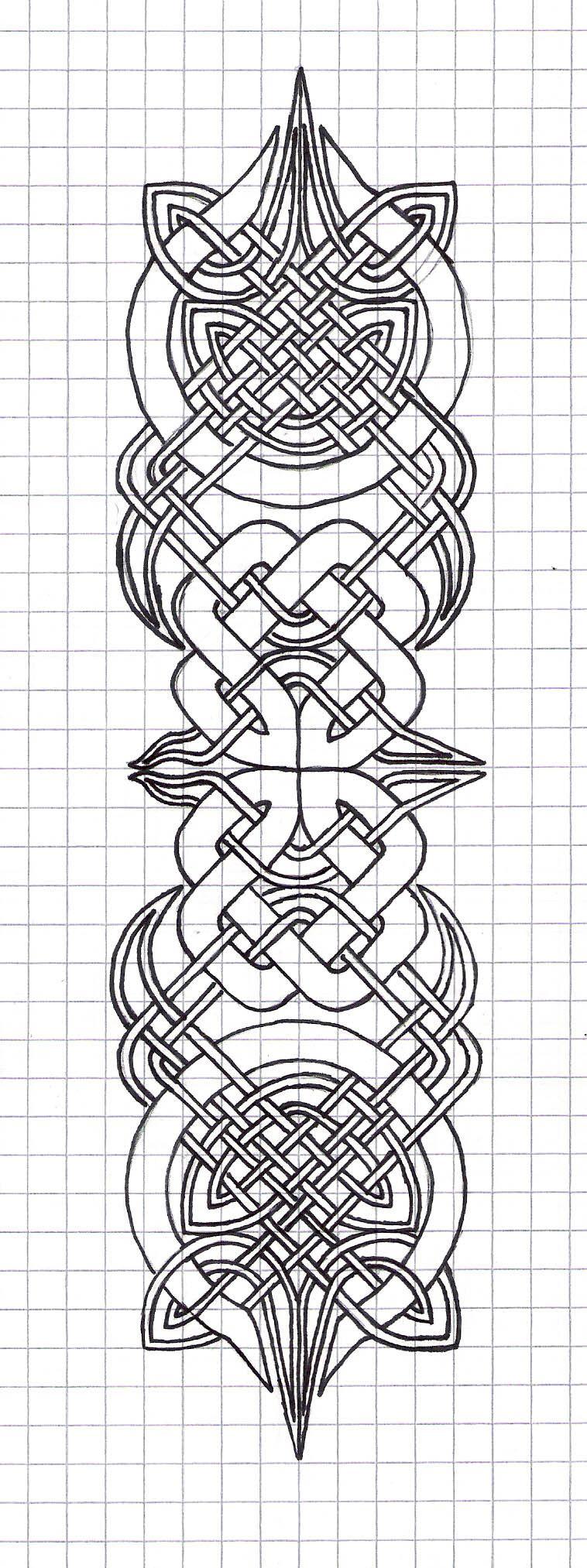The Celtic Tarot Courtney Davis 9780850309201 Amazon: Celtic Knot Designs On Pinterest