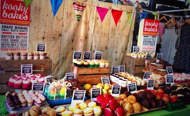 Kooky Bakes In 2019 Street Food Cake Stall Food