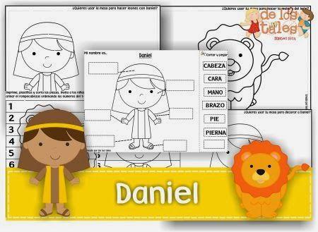 Imagenes Para Colorear De Daniel En El Foso De Los Leones