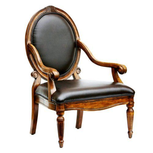 Home Bonded Leather Chair Leather Accent Chair Armchair