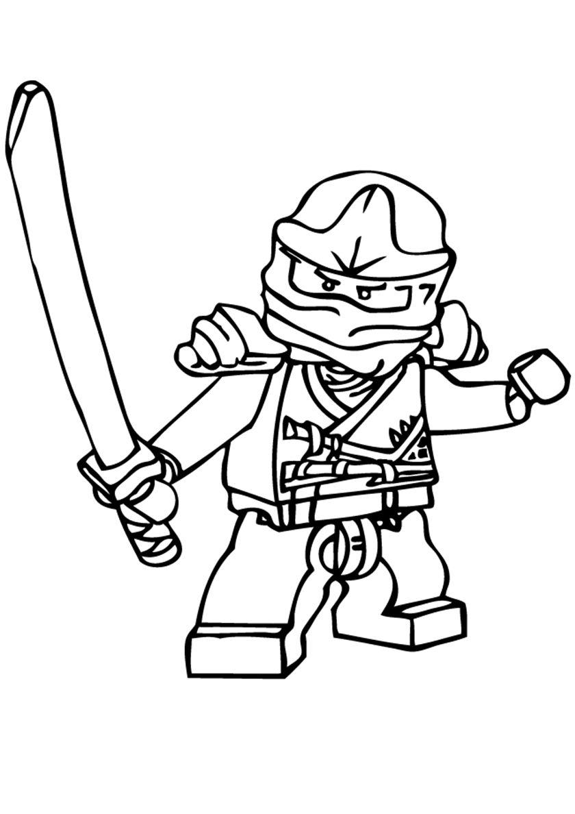 Ninja Ninjago coloring pages, Lego coloring pages