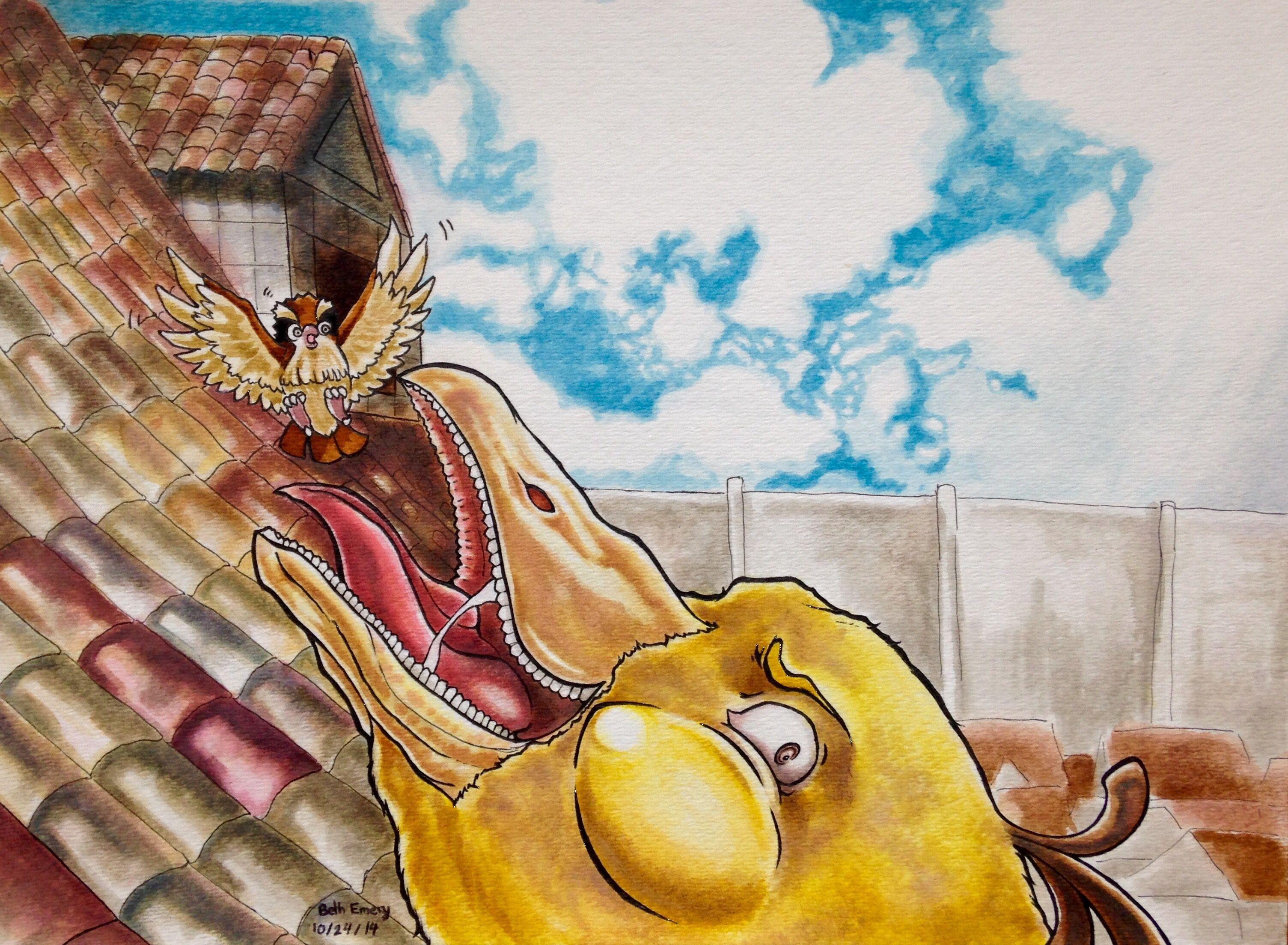 Pin by Trevor Elia on Pokémon | Anime crossover, Artist, Attack on titan