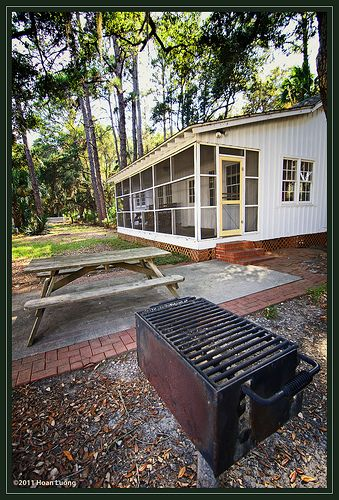 Cabin Outdoor Playground   Hunting Island State Park, South Carolina