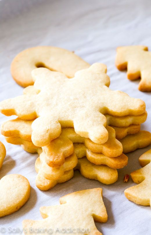 giving these a try tonight - cross your fingers! i have a lot of struggles with cutout cookies.  The BEST Holiday Cut Out Sugar Cookies Recipe