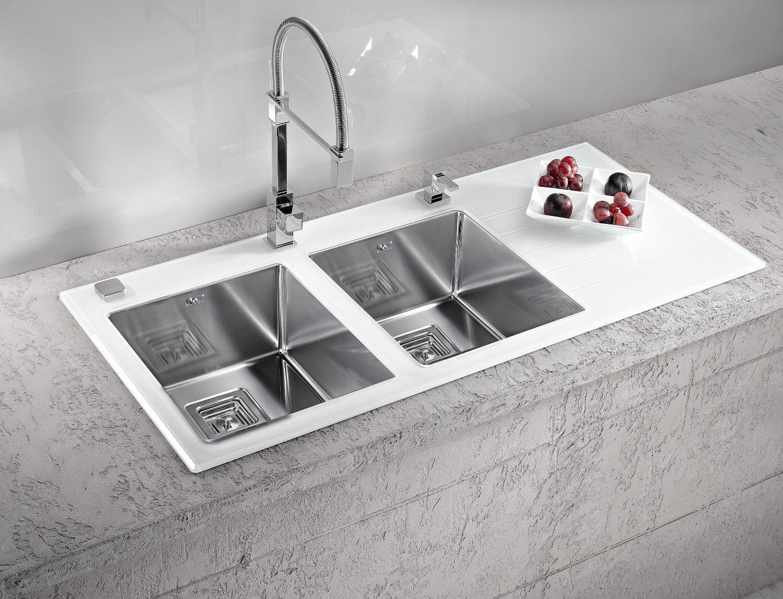 Crystalix Kitchen Sink In White  Cool Kitchen Sinks  Pinterest Fair Cool Kitchen Sinks Design Inspiration