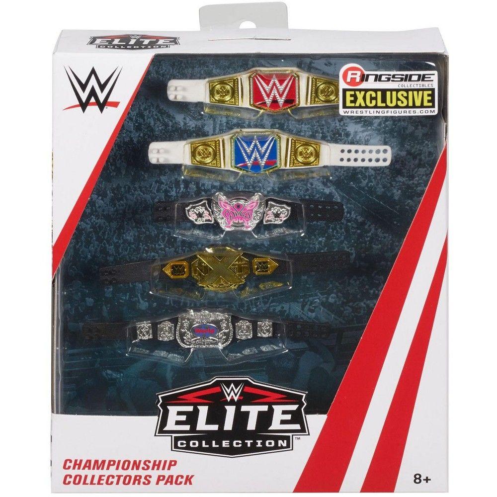 WWE Wrestling Elite WWE 5Belt Pack Action Figure