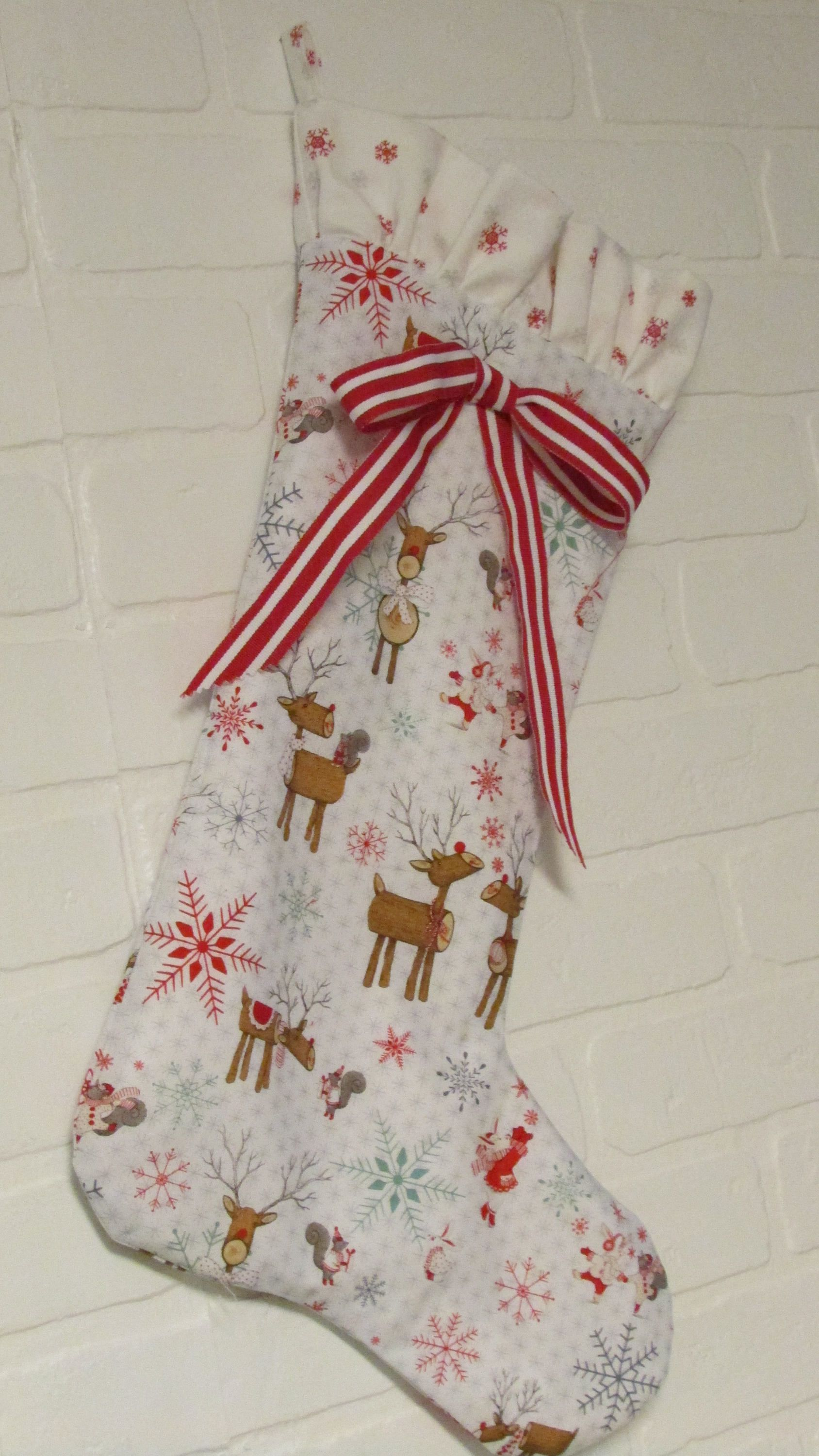 Christmas in July, FREE SHIPPING, Christmas Stocking, Baby Stocking ...