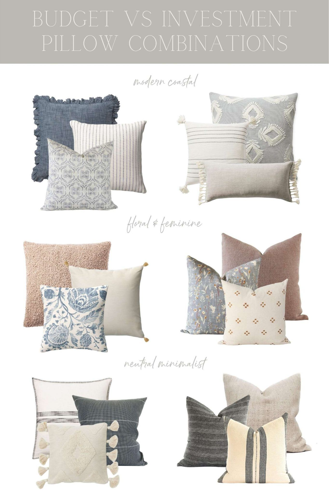 throw pillow combinations for any style and budget caitlin marie design throw pillows living room living room pillows farm house living room