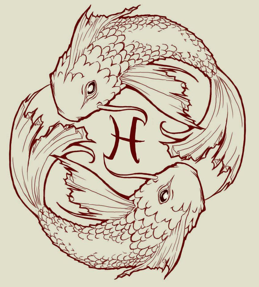 Fish drawings designs for tattoos pisces koi fish by for Koi fish quotes