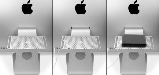 TwelveSouth's BackPack 2 stores drives, MacBook Airs and more behind your iMac or Apple display