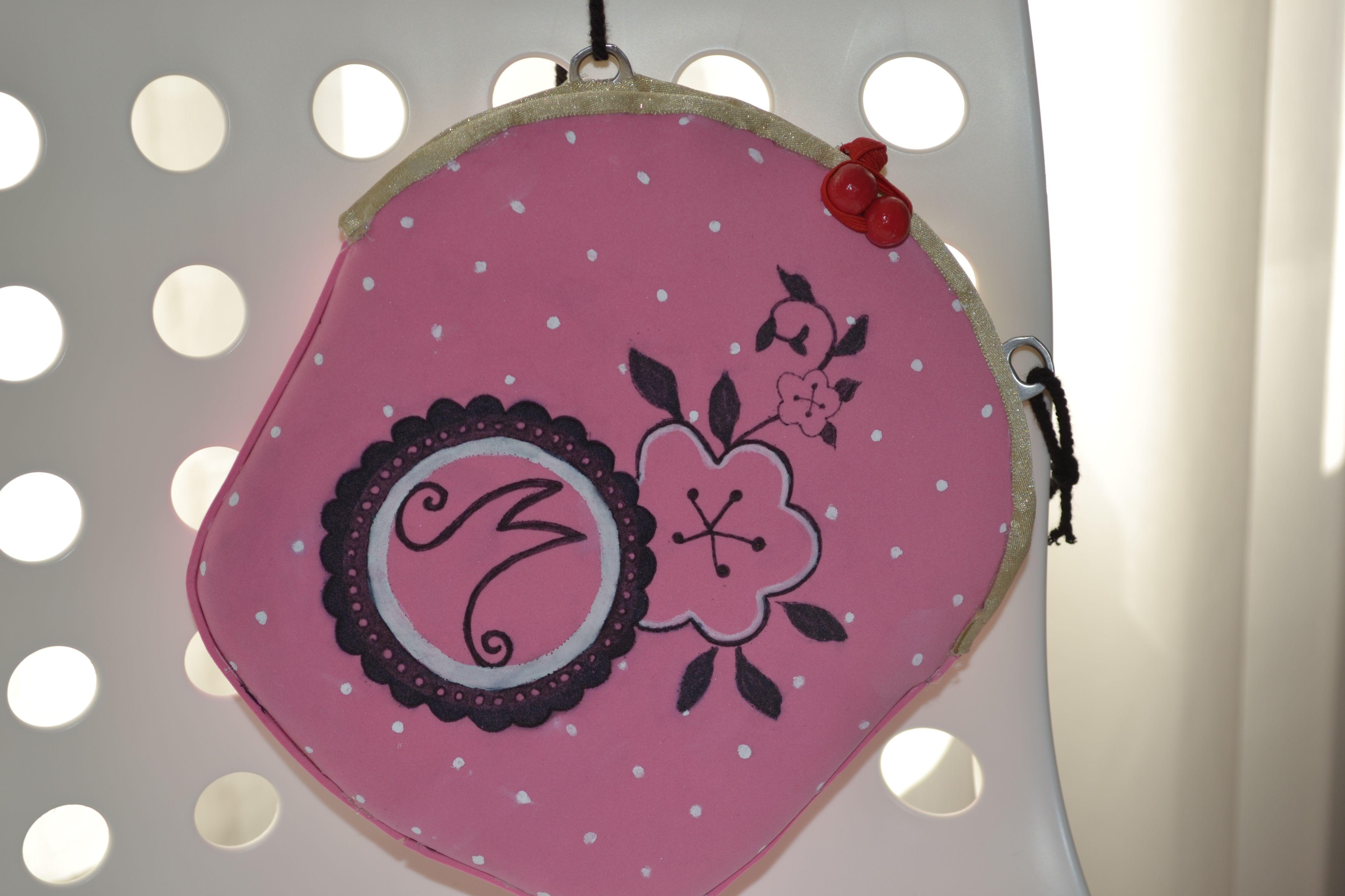 Como Hacer La Libreta De Dibujo De Marinette Prodigiosa: Bolso Marinette Prodigiosa Miraculous Ladybug Paso A Paso
