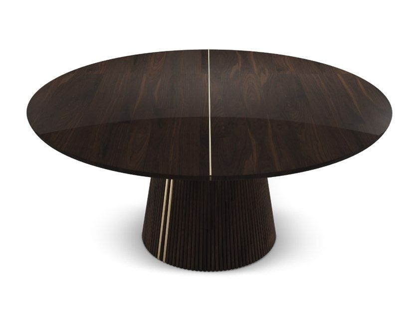 Round Walnut Dining Table Henry By Wood Tailors Club