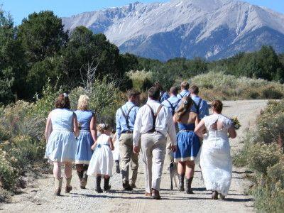 Rocky Mountain Weddings And Events Bright Star Ranch Salida Colorado