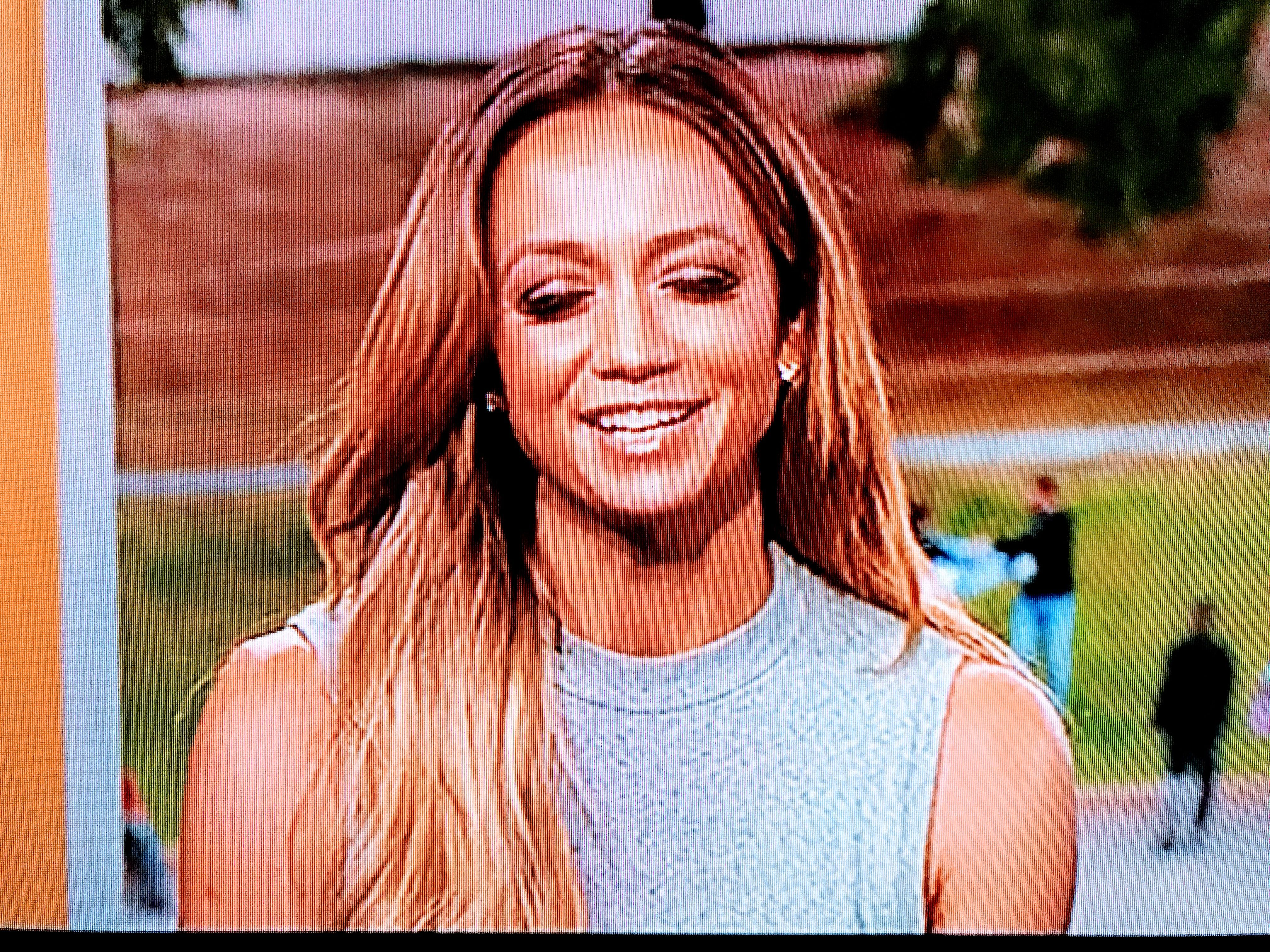 Mengenal kate abdo, host cantik fifa ballon d'or 2015. Kate Abdo   Long hair styles, Kate abdo, Hair styles