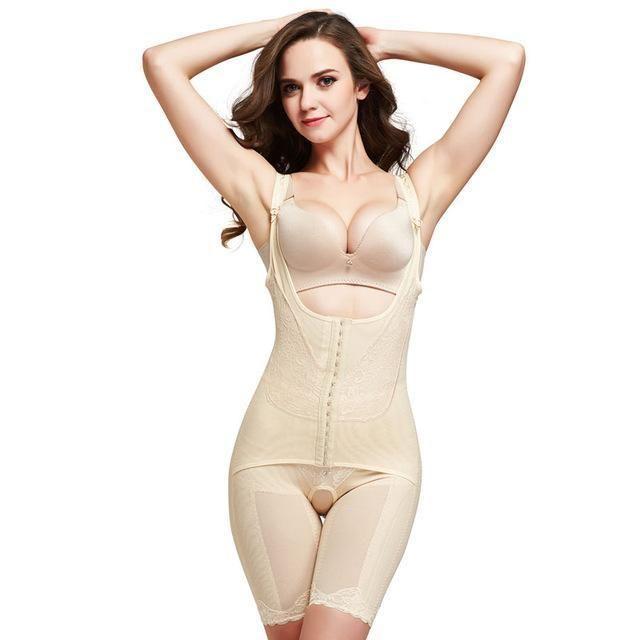 ada73585081ea Slimming Underwear bodysuit Women Lingerie Waist Trainer Body Shaper  Corrective Underwear Magnet Shapewear Loss Weight corset