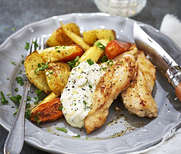 kycklinglårfile recept ica