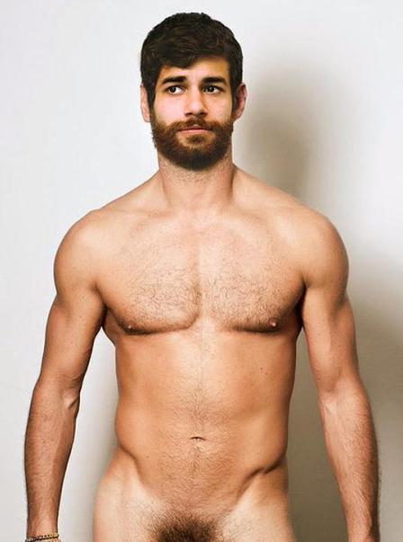 The koreansk manlig modell naken