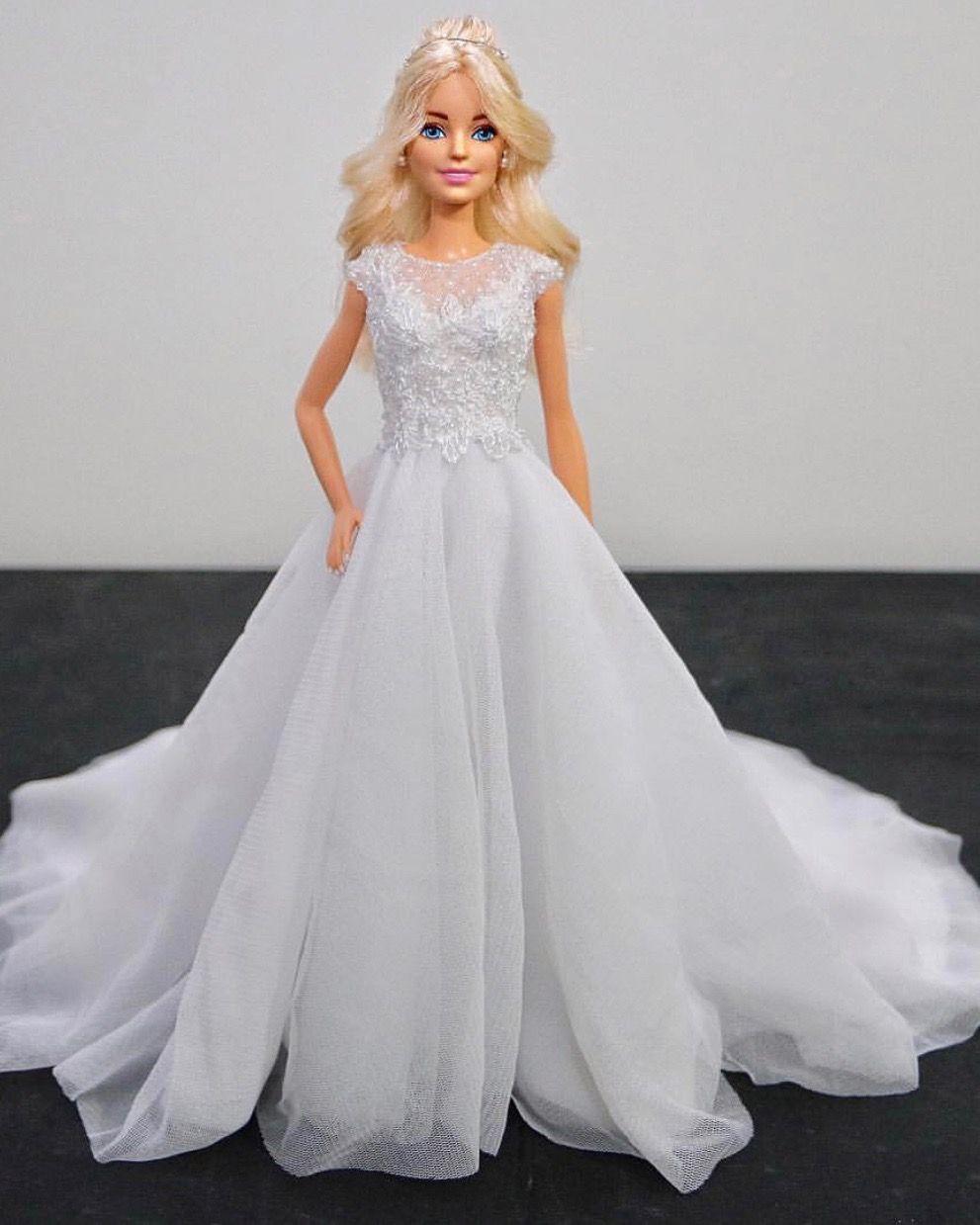 20..20/ sammurakammi   Barbie wedding dress, Barbie bridal, Barbie bride