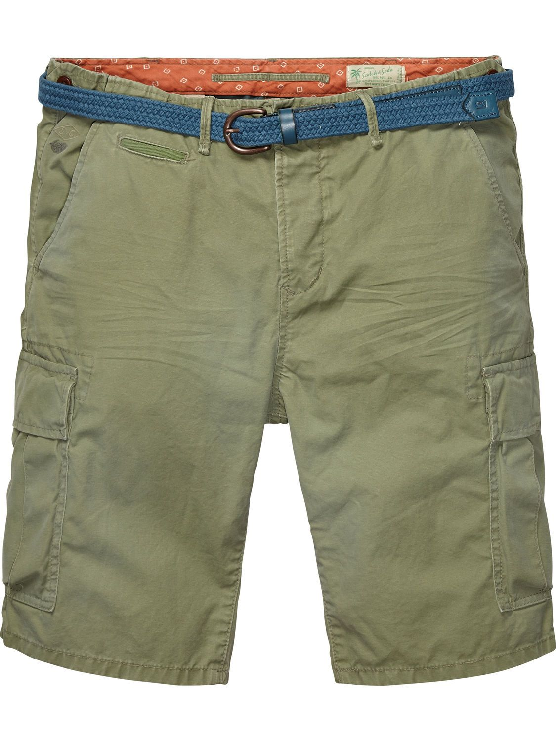 Shorts cargo con slim fit  07177a73a193