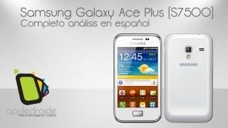 Samsung Galaxy ace plus S7500 Completo Review, via YouTube.