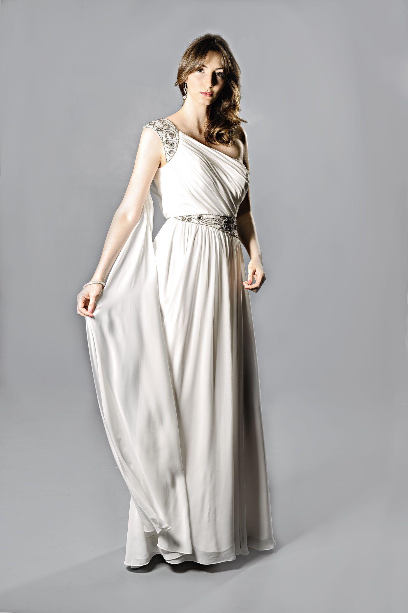Abendkleid griechischer Stil  The Factory Store  Abendkleid