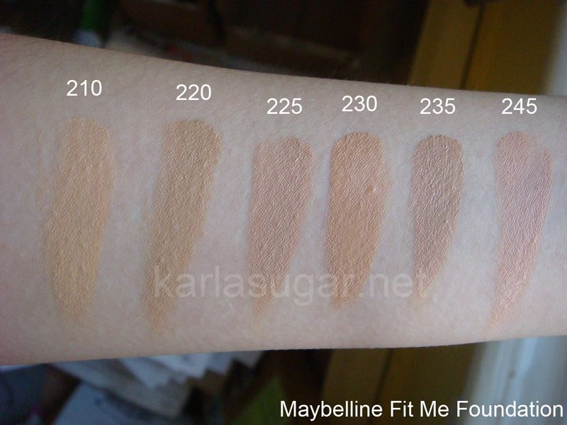 Fit Me Matte + Poreless Foundation by Maybelline #15