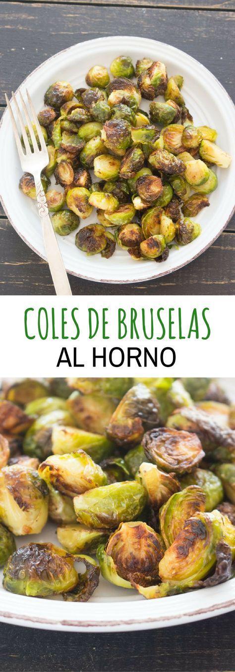 Coles De Bruselas Crispy Con Tocineta Ensalpicadas Receta Coles De Bruselas Col De Bruselas Recetas Comida