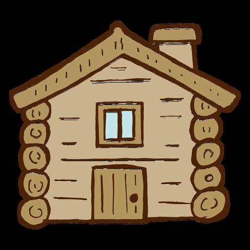 Cartoon Log Cabin Cabin Art Log Cabin Cartoon