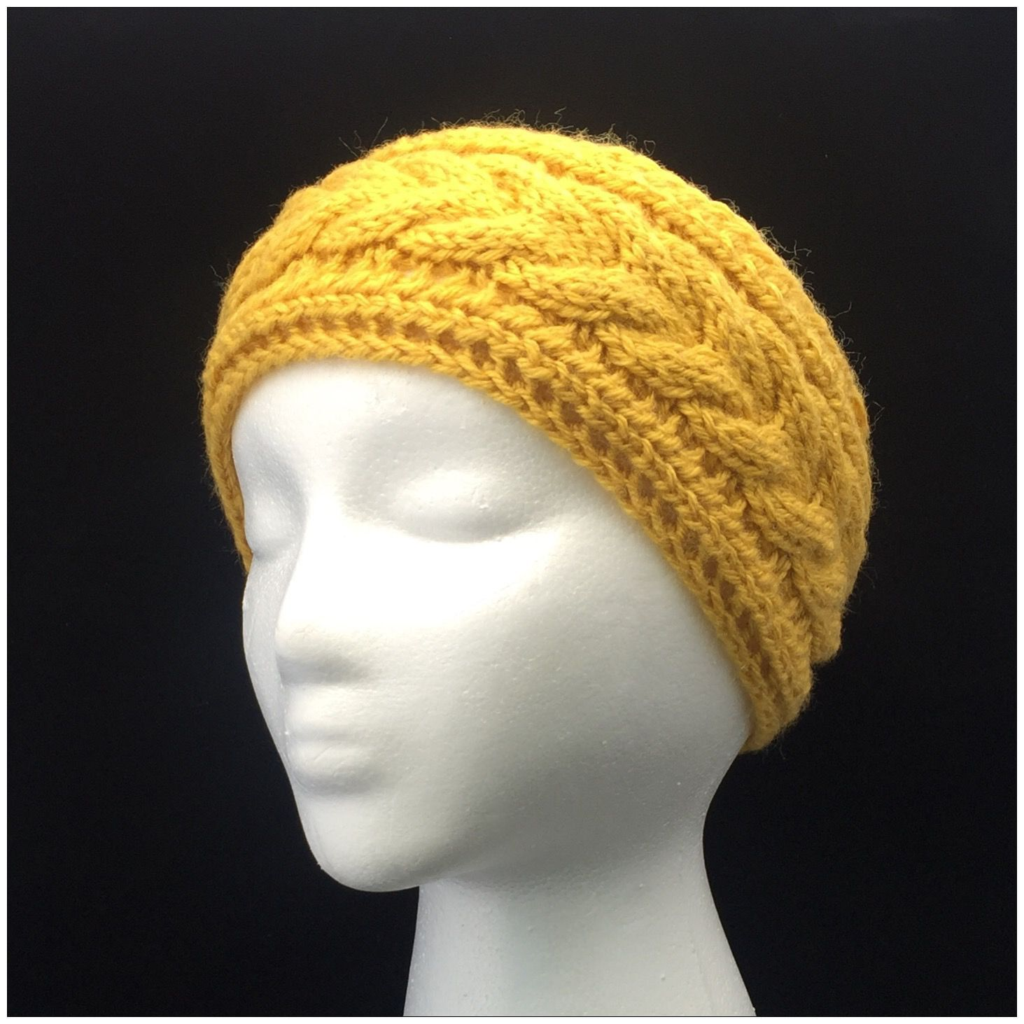 Knitting Pattern Headband, Cable Knit Headband Knitting Pattern ...