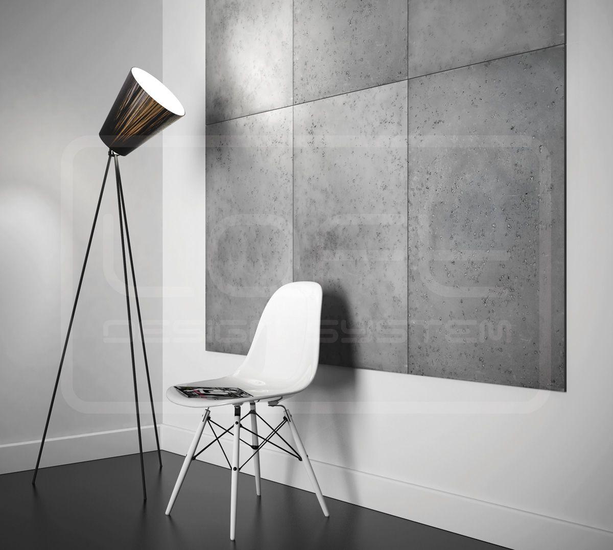 Loft model concrete 3d wall panel proje loft design system 3d wall pinterest - Concrete fence models design ...