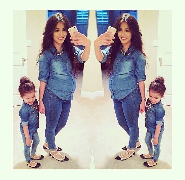 matching mommy baby swag  mommy daughter outfits mother