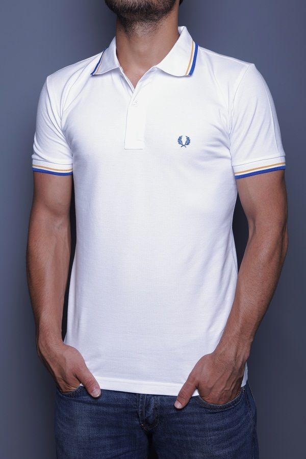 972aa62d Only 23.90€ Fred Perry Slim Fit Men's Polo T-Shirt Polo Collar, Button  Placket, Short Sleeves, Bay leaf brand Logo www.fashionworldoutlet.com