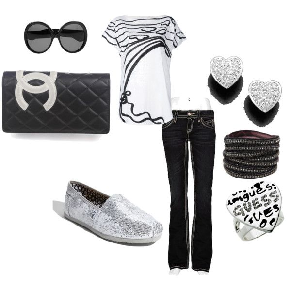 ok so i wouldn't wear all of this but top, pants, shoes and bracelet, yea i so would