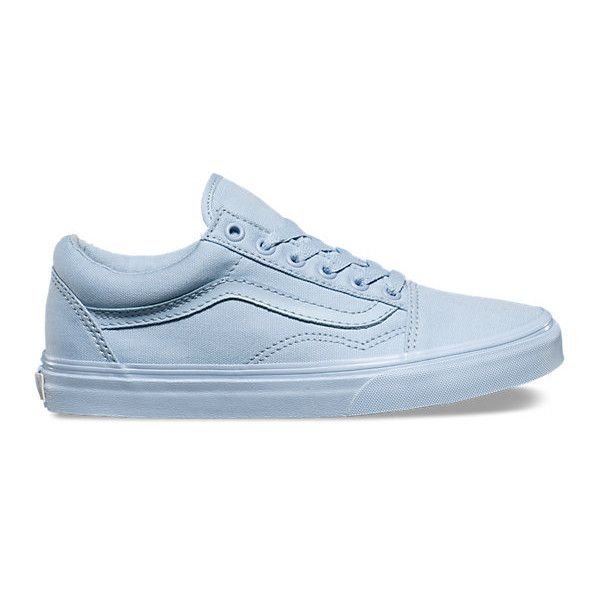 7744c672f3 Mono Canvas Old Skool ( 55) ❤ liked on Polyvore featuring shoes ...