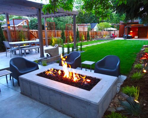 Modern Backyard Design Modern Backyard Design Never Walk Out Models Interesting Modern Backyard Design