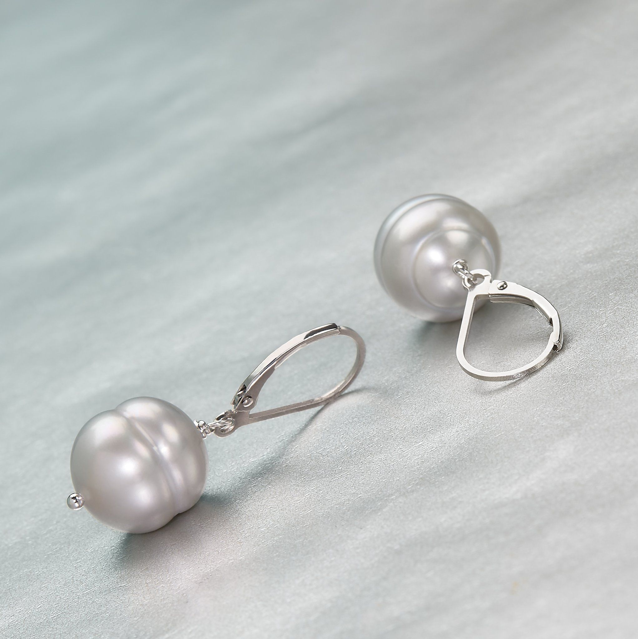 Honora Pearls Earrings A Pair Of Sterling Silver Featuring Oval Shaped Cultured These Timeless Accessories Add Rous Feel To