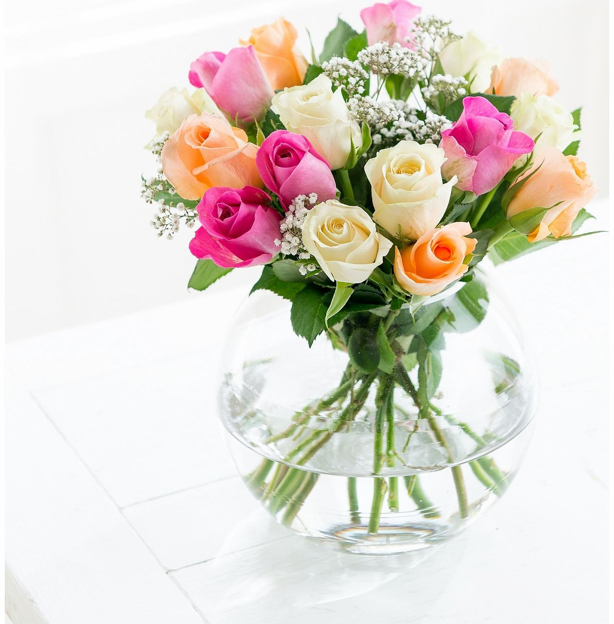Flying flowers 15 mixed roses 5 white roses 5 peach roses 5 pink flying flowers 15 mixed roses 5 white roses 5 peach roses 5 pink roses izmirmasajfo Image collections
