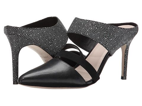 Cole haan · Cole Haan Lexington Pump 85 Black/White/Black Nubuck ...