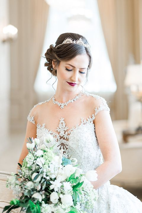 San diego wedding shoot at the westgate hotel bride ball gown with ...