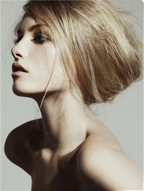 Emma Maclaren Frisuren Frisur Hochgesteckt Beauty